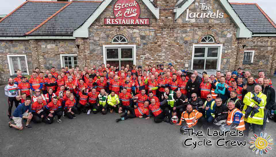 The Laurels Cycle Crew reach their €1million for charity